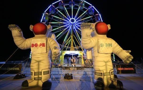 Coachella Neon Carnival