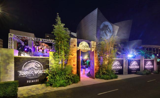 Jurassic World Movie Premiere Audio Services Force Field Inc